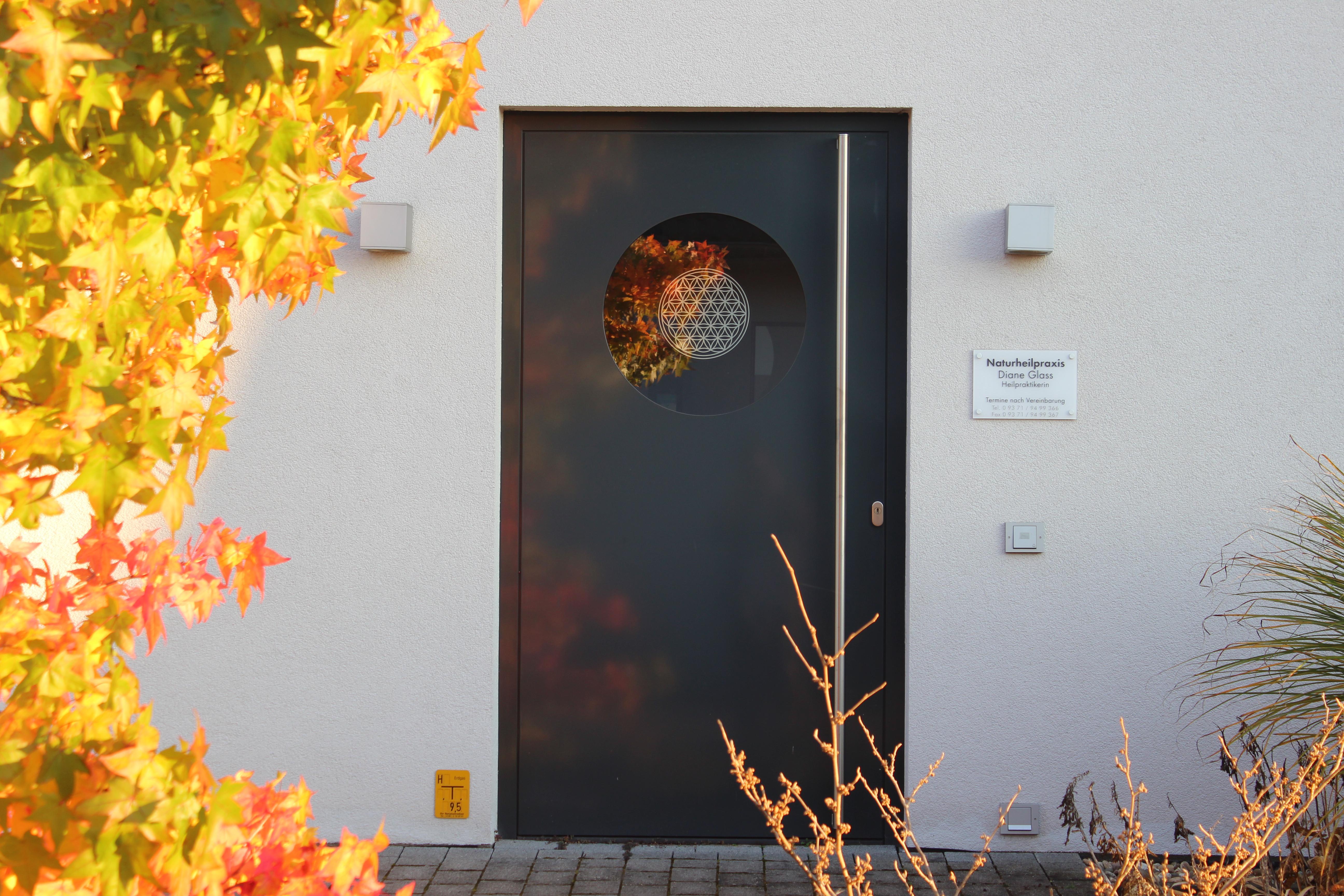 Naturheilpraxis Eingang